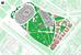 Генплан всего проекта: стадион, арена, Академия спорта, Парк физкультуры и отдыха, торгово-развлекательный комплекс. Коммерческая часть (розовым цветом на плане) включает отель Hyatt, апарт-отель на 56 апартаментов, апартаменты на 1002 квартиры, а также четыре офисных здания, в одном из которых будет офис общества «Динамо». Около трети всей коммерческой площади займут подземные парковки.