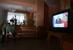 Ветеран ВОВ смотрит телетрансляцию послания президента