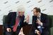 Лоуренс Брам, экономист, советник премьер-министра Китая по вопросам подготовки к вступлению в ВТО и Андрей Мовчан, управляющий партнер, ИК «Третий Рим»