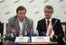 Михаил Сусов, X5 Retail Group и Олег Сазанов, директор департамента государственного регулирования внутренней торговли, Минпромторг РФ