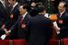 Китайский премьер Вэнь Цзябао (справа) и председатель КНР Ху Цзиньтао.