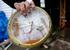 Часы из затопленного дома в Лонг Бич Айленд, Нью-Джерси.