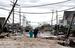Улица в городе Сисайд Хейтс, Нью-Джерси, после ураган Сэнди.