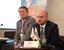 Александр Галушка, президент, «Деловая Россия» и Дмитрий Курочкин, исполняющий обязанности вице-президента, ТПП РФ