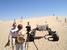 Испытания марсохода в Калифорнии