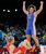 Вольная борьба. Женщины до 63 кг. Бронза                                          Россиянка Любовь Волосова (в синем) завоевала бронзовую медаль на соревнованиях среди женщин по вольной борьбе в весовой категории до 63 кг.