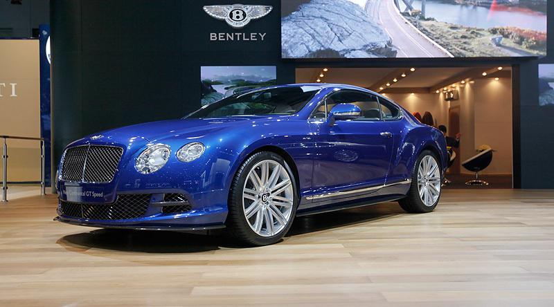 Мировая премьера купе Bentley Continental GT Speed