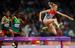 Легкая атлетика. Женщины. 3000 м с препятствиями. Золото                                          Россиянка Юлия Зарипова (справа) завоевала золотую медаль в беге на 3000 метров с препятствиями