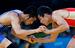 Греко-римская борьба. Мужчины, до 54 кг. Бронза                                          Россиянин Мингиян Семенов (в красном) завоевал бронзовую медаль в греко-римской борьбе в весовой категории до 55 кг