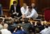 Потасовка в украинском Парламенте во время принятия закона о русском языке 3 июля 2012 г.