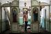 Храм Святого великомученика и целителя Пантелеймона в станице Нижнебаканская Крымского района Краснодарского края, после затопления