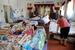 Местные жители, пострадавшие от наводнения, в пункте временного размещения в школе-интернате города Крымска