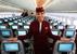 Оба представителя передовой авиационной мысли показали в раскраске азиатских компаний, известных своим роскошным сервисом и интерьерами. Ну и, конечно, стюардессами в этнических костюмах и белоснежными улыбками. У B-787 (на фото) презентация проходила под флагом компании Qatar, у A380 - Malaysia Airlines.