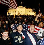 Ликующая толпа у Белого Дома (AP)