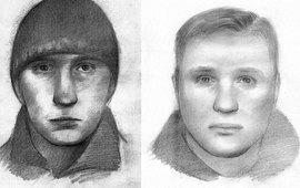 Фотороботы подозреваемых в совершении преступления (КГБ Белоруссии)