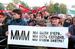 Санкционированный митинг на Театральной площади в поддержку Сергея Мавроди, 1994 год