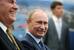 Президент Владимир Путин и глава Exxon Mobil Рекс Тиллерсон