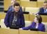 Депутат Иосиф Кобзон на пленарном заседании Госдумы
