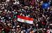 Сторонники Мурси празднуют победу своего кандидата на площади Тахрир в Каире