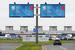 Рекламные щиты форума в Пулково