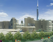 Эскизный проект делового центра Минск Сити