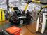 Собранный автомобиль заправляется топливом и проходит первый тест еще в стенах завода.