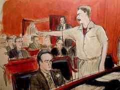 Рисунок из зала суда (Elizabeth Williams/AP)