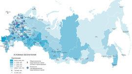 Карта индустриальных парков России (Knight Frank)