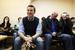 Алексей Навальный на заседании мирового суда