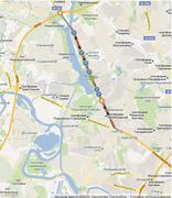 План реконструкции Ленинградского шоссе/ genplanmos.ru