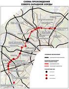 Схема прохождения трассы