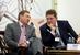Сергей Кудряшов, первый заместитель генерального директора, «Зарубежнефть» и Андрей Сухов, менеджер по вопросам налогообложения, «Шелл»