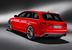 Полноприводный красный Audi RS4 Avant хорошо подготовлен для езды по дорогам общего пользования с максимальной скоростью 250 км/ч. Но, если доплатить, электронный ограничитель поднимут еще на 30 км/ч выше. С помощью системы Audi Drive Select водитель может выбирать из салона режимы движения - комфортный, автоматический и динамичный - меняя характеристики рулевого управления, коробки передач и привода дроссельной заслонки. Из салона можно даже изменить звук выхлопной системы, уверяют в компании. При установленной на заводе системе навигации водитель может еще и настраивать собственный режим движения, используя для этого органы управления GPS.