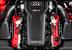 Универсал приводит в движение 4,2-литровый атмосферный V8 FSI мощностью 450 л.с. при 8250 об/м с крутящим моментом 430 Нм, который возникает в диапазоне от 4000 до 6000 об/м. Мотор, позаимствован для универсала с купе Audi RS5. Мощность передается на все четыре колеса через семиступенчатую преселективную коробку S-Tronic с двумя сцеплениями. Этот комплект ускоряет RS4 Avant до 100 км/ч за 4,7 секунды