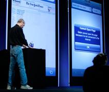 Сбой iPhone 4  при  попытке загрузить веб-страницу