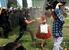 4 июня 2013 г.                                          Полицейский применяет слезоточивый газ во время протестов в Турции.                      Смотреть галерею