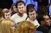1 марта 2013 г.                                          Журналисты во время пресс-конференции президента Украины Виктора Януковича надели маски с изображением главы государства. Поводом для акции послужил спор о том, как формируются списки изданий и корреспондентов, которые будут задавать вопросы президенту.