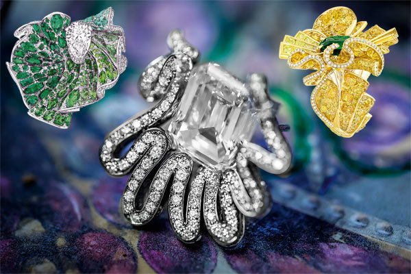 При создании каждого украшения Archi Dior ювелирам пришлось формировать складки иволаны изтвердого золота