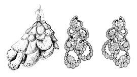 Креативный директор Dior Joaillerie Виктуар де Кастеллан дерзнула воплотить в драгоценных материалах кутюрные платья основателя дома Кристиана Диора