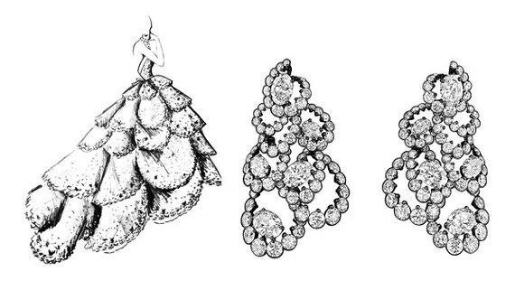 Ювелиры Dior воплотили в драгоценных материалах кутюрные платья ... 8d3b7e30ba4