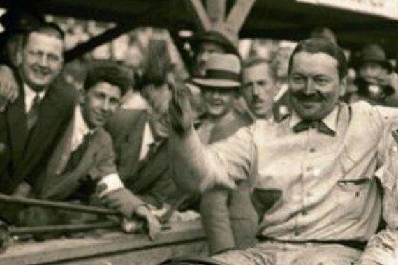 Борис Ивановский, победитель в классе гонок Brooklands Double Twelve в 1930 г.