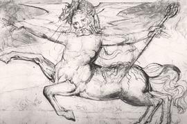 Рисунок Уильяма Блейка к «Божественной комедии» Данте