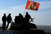 Самоходная артиллерийская установка сепаратистов под Донецком