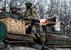 Солдаты украинской армии вблизи Артемовска