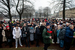Акция на на Троицкой площади в Санкт-Петербурге
