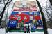 Тема Крыма мгновенно нашла отражение в уличных граффити. На фото рисунок, выполненный командой художников «НЭЗО STREET ART» на одном из домов на Нахимовском проспекте в Москве.