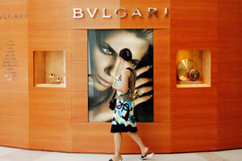 Первый собственный магазин в Москве Bulgari намерена открыть до конца 2015 г.