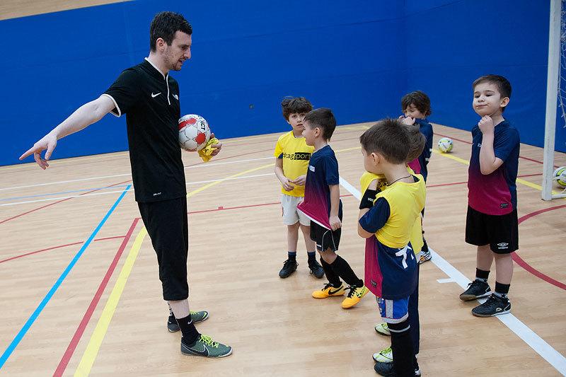 Отбор в детскую футбольную академию бавария