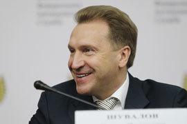 Игорь Шувалов, первый вице-премьер.