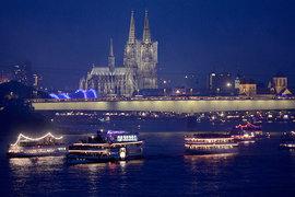 Круизные корабли на реке Рейн